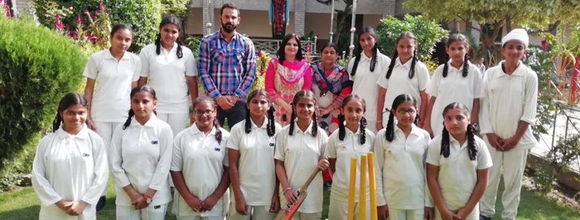 Girls Cricket Team won District Level Cricket Tournament.