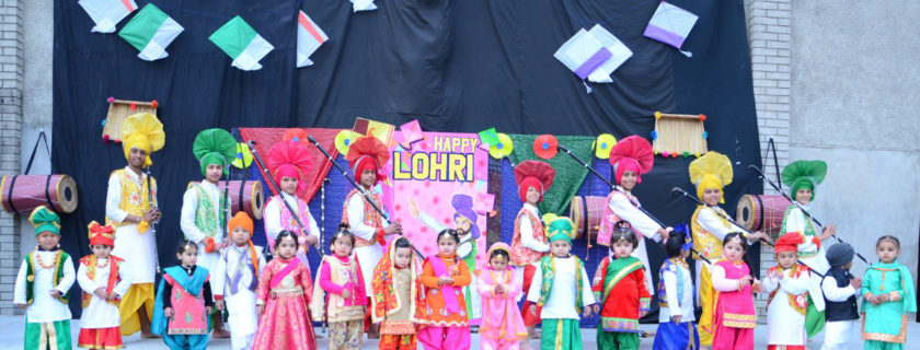 Celebration Lohri Festival with Fervour