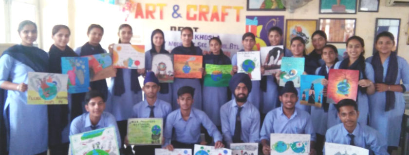 World Environment Day – Declamation & Poster Making Competition