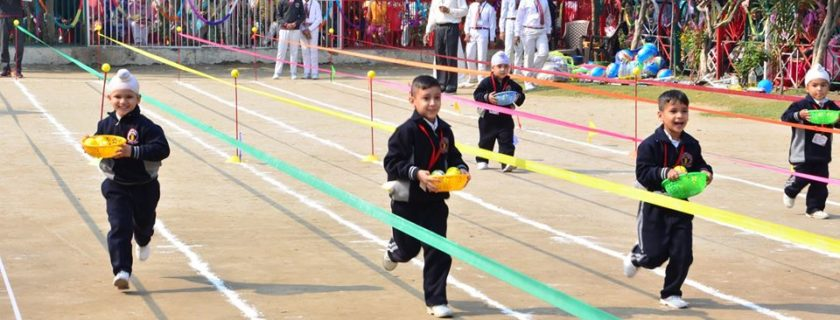 R.D. Khosla enters into the spirit of the Sports Meet (Phase-I)